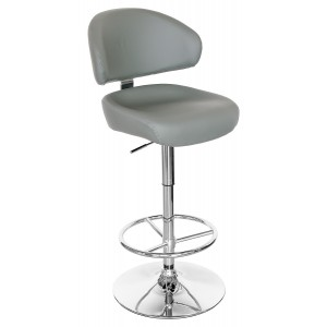 Casino Bar Stool - Grey