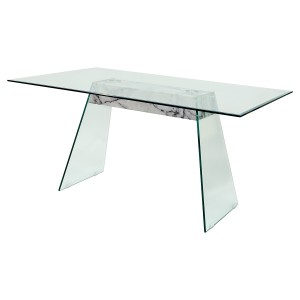 Talladega Glass Dining Table