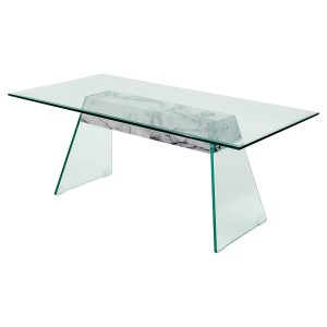 Talladega Glass Coffee Table