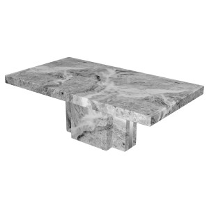 Newcastle Grey Marble Coffee Table