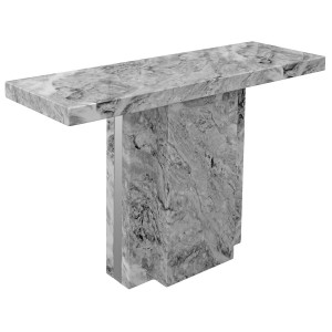 Newcastle Grey Marble Console Table