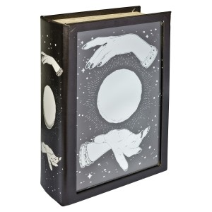 Mirrored Crystal Ball Storage Book Box