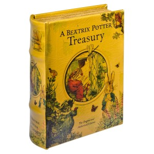 Beatrix Potter Treasury Storage Book Box