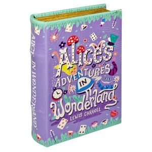 Alices Adventures in Wonderland Storage Book Box