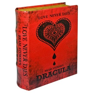 Dracula Large Storage Book Box
