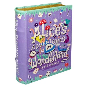 Alices Adventures in Wonderland Large Storage Book Box