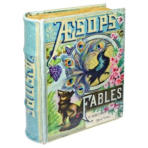Aesops Fables Storage Book Box