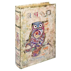 Hope Owl Storage Book Box
