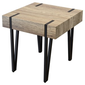 Canyon Wood Effect Lamp Table