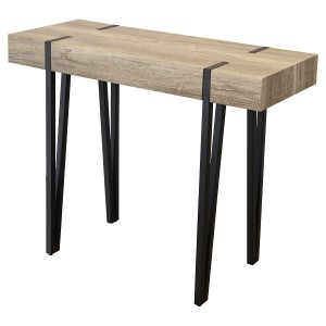 Canyon Wood Effect Console Table