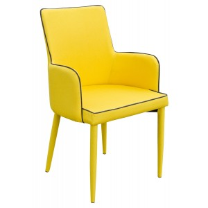 Duncan Dining Carver - Yellow