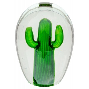 Large Glass Cactus