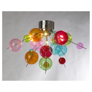 Multicolour Ball Ceiling Light