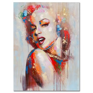 Acrylic Canvas Wall Art - Marilyn Monroe