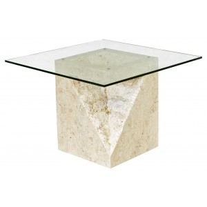 Athens Mactan Stone End Table