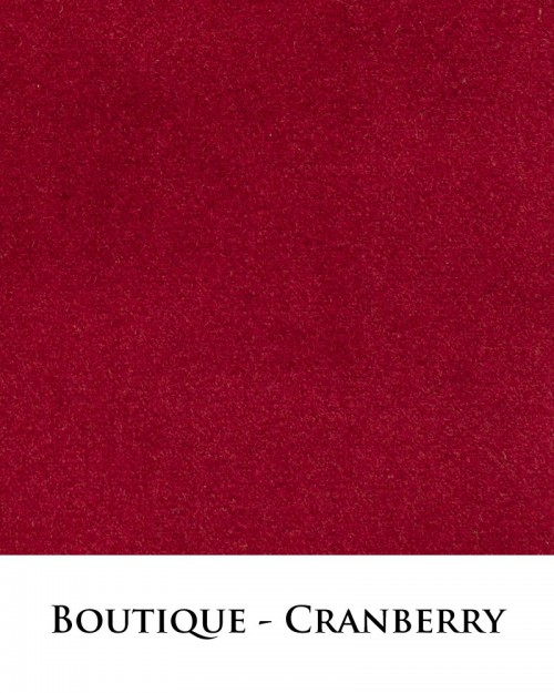 Boutique Fabric - Cranberry