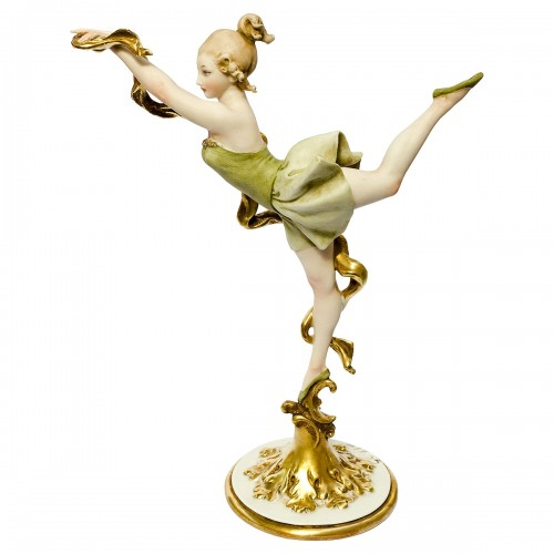 Ballet Dancer Figure by Giuseppe Cappé