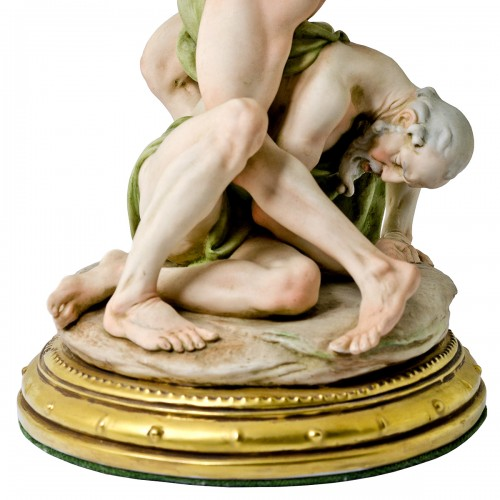 Rape of the Sabines by Giuseppe Cappé - Close Up Base