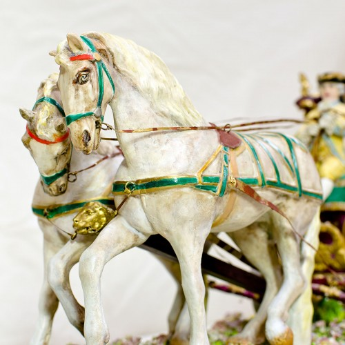 Capodimonte Coach and Horses Repaired