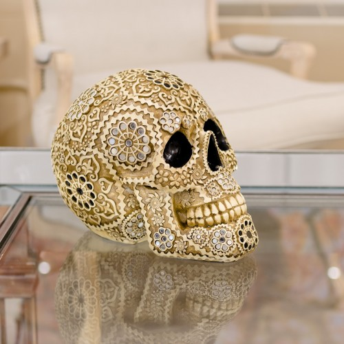 Decorative Model Skull in our Showroom