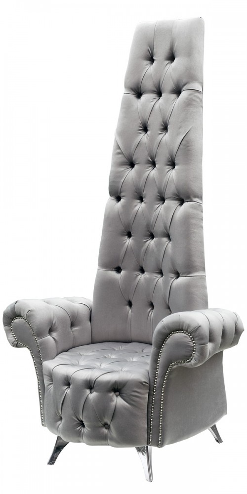 Deep buttoned back potenza chair