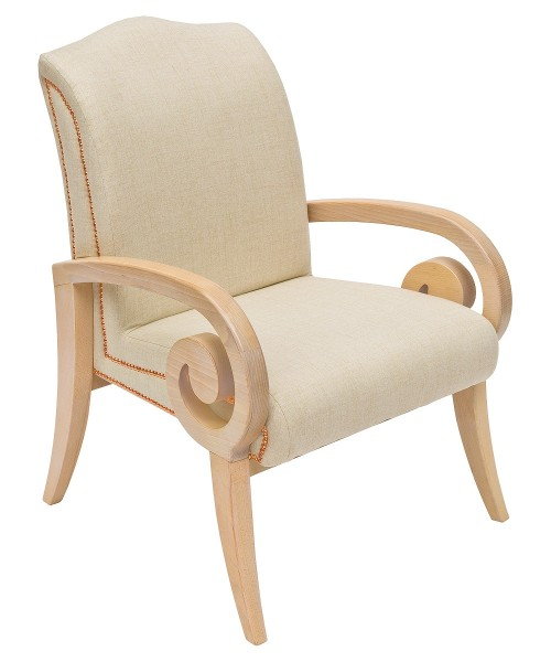 Mira Lounge Chair Front