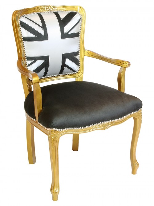 Boudoir Chair - Front View