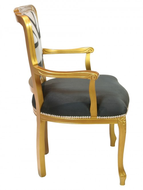Boudoir Chair - Side View