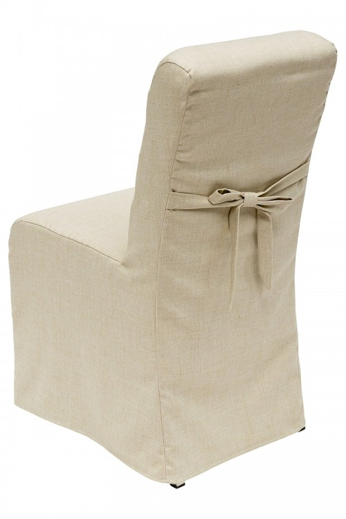 Clarice Dining Chair with Fabric Cover - Back