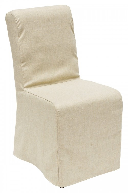 Clarice Dining Chair with Fabric Cover - Front