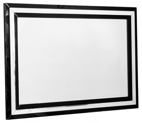Black Borders Wall Mirror