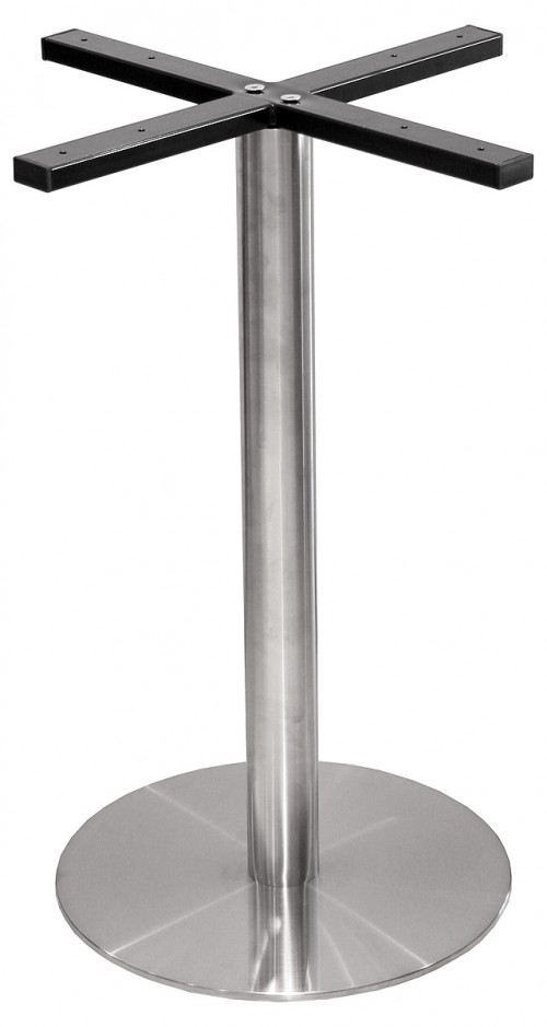 Round Stainless Steel Table Base