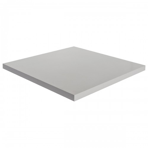 Grey Square 70cm Table Top