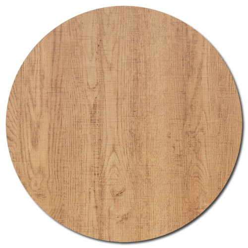Melamine Round Table Top - 80cm