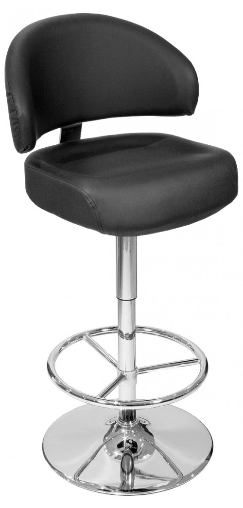Casino Bar Stool in Black