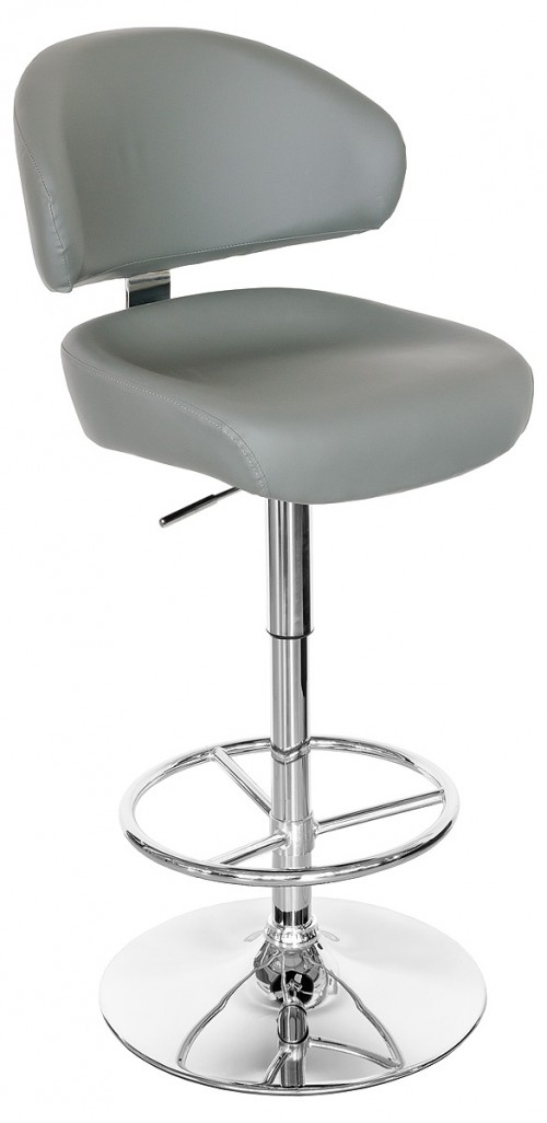 Casino Bar Stool in Grey