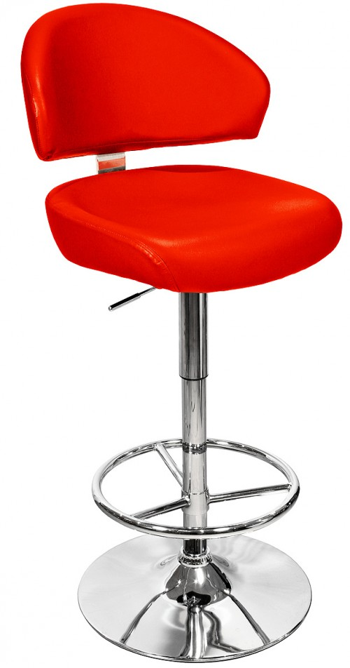 Casino Bar Stool in Red
