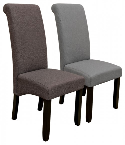 Scroll Back Dining Chair