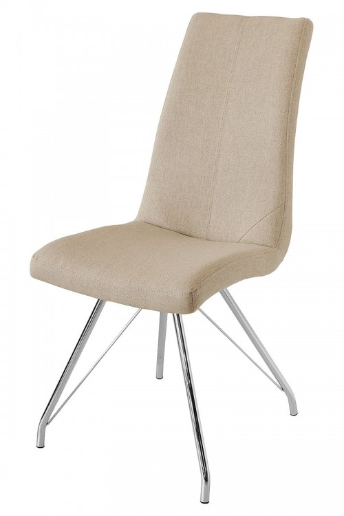 Madelina Fabric Dining Chair - Taupe
