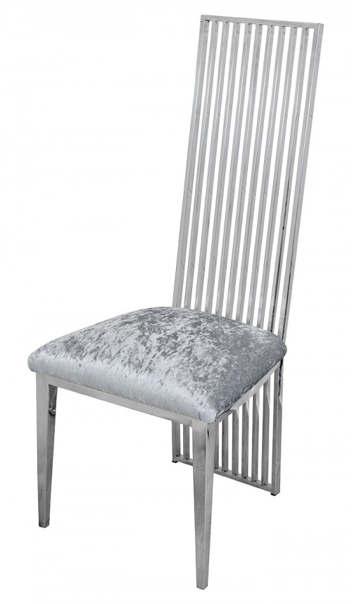 Mc Sky High Back Dining Chair Metal Dining Chair