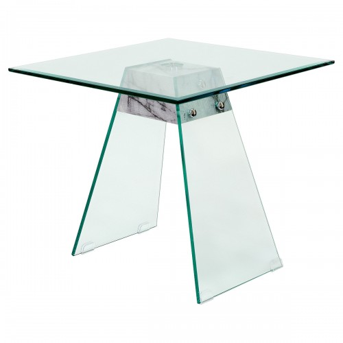 Talladega Glass Lamp Table
