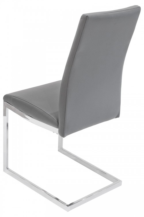 Quilt Back Dining Chair Back - Grey