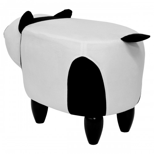 Panda Pouffe - Back View