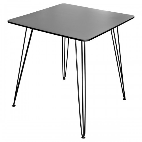 Tower Square Dining Table - Black Top