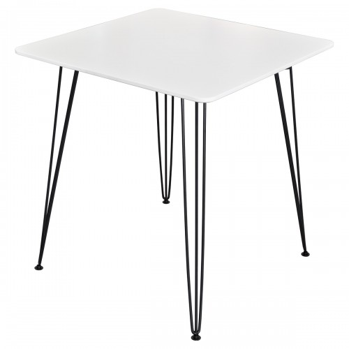 Tower Square Dining Table - White Top