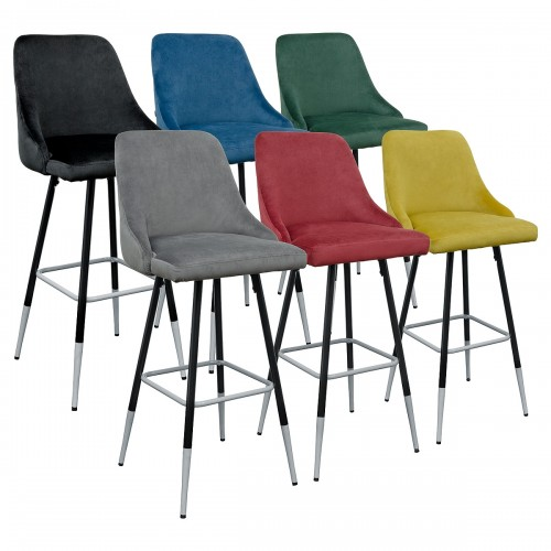 Fiona Fabric Bar Stool