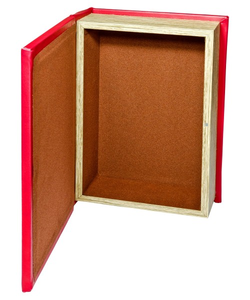 Through the Looking Glass Storage Book Box - Open