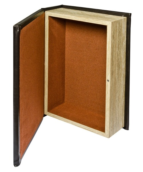 Mirrored Crystal Ball Storage Book Box - Open