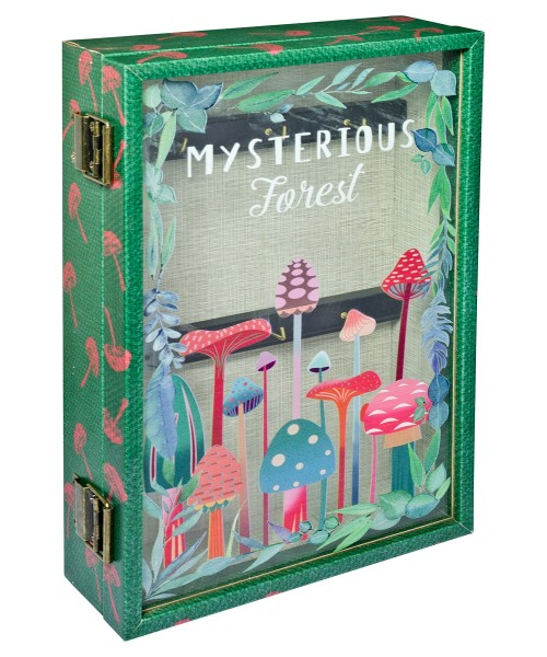 Mysterious Forest Storage Book Box - Front