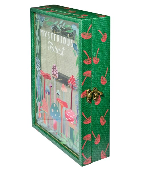 Mysterious Forest Storage Book Box - Side